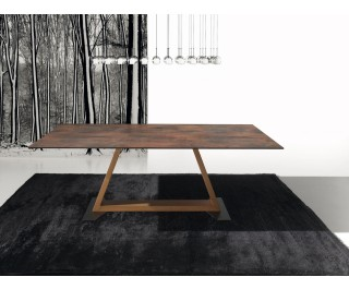 Kansas | Dining table | Ideal Sedia