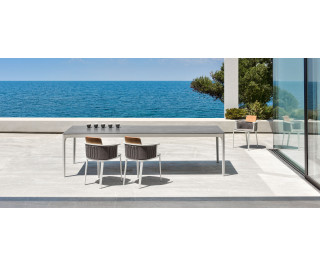 Play | XL Rectangular dining table | Ethimo