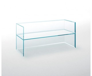 PRISM glass chair | Armchair | Glas Italia