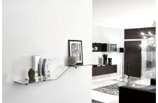 Bicurva wall shelf by Unico Italia