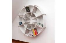 Giotto bookcase by Villa Home Collection