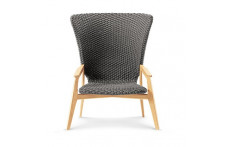 Knit | Loung high back armchair | Ethimo