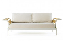 Meridien | 3 seater sofa with armrests | Ethimo