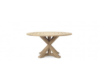 Cronos | Round dining table | Ethimo