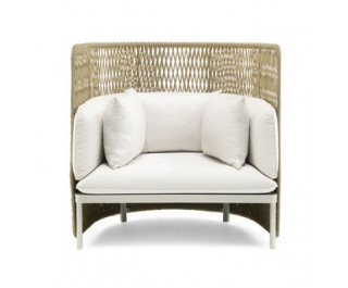Esedra | Lounge high back armchair| Ethimo