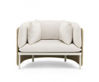 Esedra | Lounge armchair| Ethimo