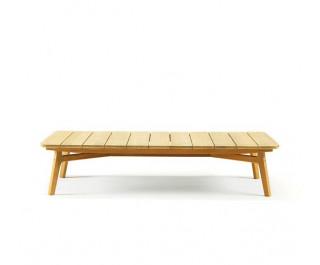 Knit | Rectangular coffee table | Ethimo