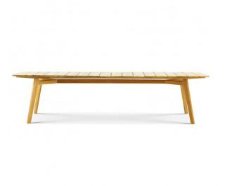Knit | XL Rectangular dining table | Ethimo