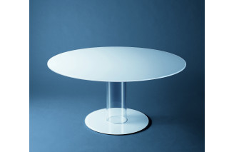 Hub tavoli alti dining table by Glas Italia
