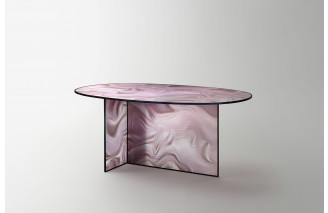 Liquefy | Dining Table | Glas Italia