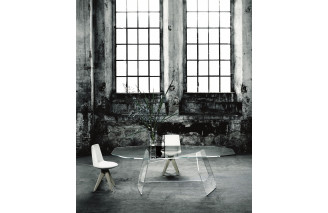 Quake | Dining Table | Glas Italia