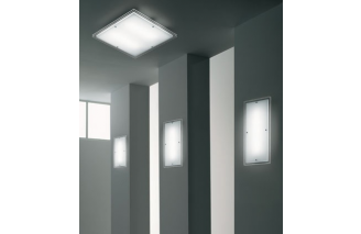 Quadra | Ceiling/Wall lamp | Vistosi