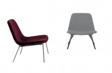 Sveva | Lounge Chair | Tonin Casa