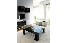 Double coffee table by Unico Italia