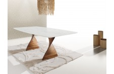 Charlotte dining table by Ideal Sedia