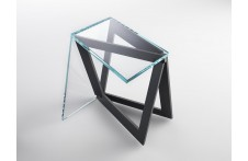 Quadror 01 side table by Horm