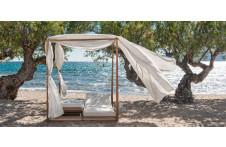 Double canopy | Sun lounger | Ethimo