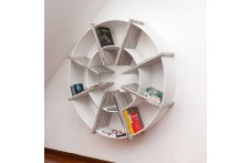 Giotto bookcase by Villa Home Collection