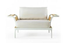 Meridien | Lounge armchair | Ethimo